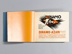 The Bolted Book: Campaign to revive a rare typographic book by Fortunato Depero   Creative Boom