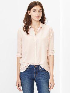 Silk cotton shirt Product Image