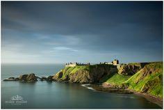 Dunnottar Castle and a beautiful Aberdeenshire coastal scene.