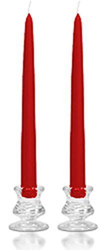 6 Inch Red Taper Candles by US candle ** Read more reviews of the product by visiting the link on the image.