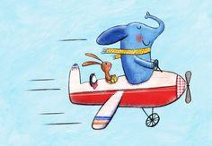 artist *Laura Hughes* an airplane ride that's joyful
