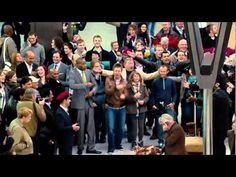 Amazing T-Mobile Flash-mob commercial (Heathrow Airport, London)