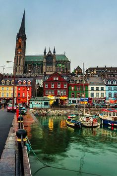 Cobh, County Cork, Ireland!  This post will not contain industrial soot stained cities; instead it showcases some of the most vibrant looking cities in the world.  Click through to see some of the most colorful cities in the world!