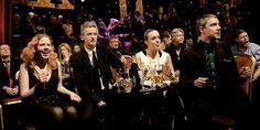 Martin Freeman, Amanda Abbington, Peter Capaldi and his daughter Cecily ♡ tumblr_o7pwy8sVuq1rp68cjo1_540.gif (540×270)