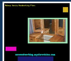 Makeup Vanity Woodworking Plans 074744 - Woodworking Plans and Projects!