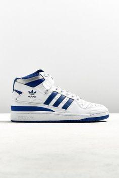 huge discount 6dd47 4c005 Adidas Forum Mid Refine Sneaker Adidas Basketball Shoes, Vans Sneakers,  High Top Sneakers,