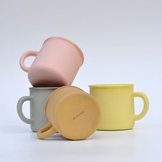 Atelier Dion Colored Clay Mugs - Design Crush