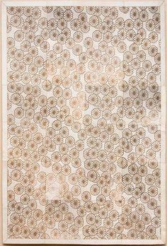 Alfombra con diseño Laser en cuero premium argentino - Modelo Zoleil - ::: Design Carpets Alfombras :::