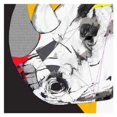 "Saatchi Art Artist Simone Guimaraes; Drawing, ""Black Rhino, Limited Edition 1 of…"