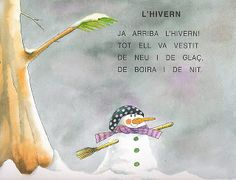Poema HIVERN Learn A New Language, Lectures, Homeschool, Teaching, Blog, Frozen, Holidays, Google, School