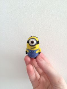 My latest needle felt creation  Minions