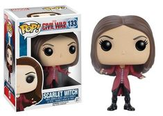 Scarlet Witch Collectible Vinyl Figure - Original Funko Pop Marvel Civ – One Geek  DETAILS & DIMENSIONS Product: Scarlet Witch Figures Product Size: 10 cm Material: PVC Age: Over 6 years old Type: Collectible Vinyl Doll Theme: Movie & TV Manufacturer: Funko