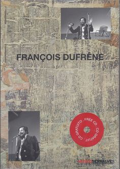 François Dufrêne Book/CD Oeuvre Désintégrale  (Spoken Word, Experimental)