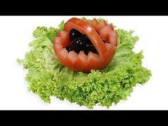 019. Darmowy kurs carvingu koszyk z pomidora / Free carving course tomato basket - YouTube