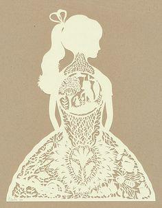 papercut by Elsa Mora