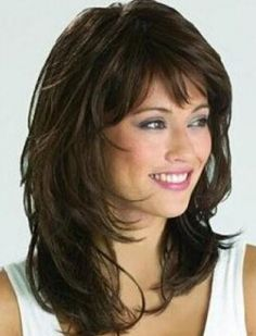 Casual Popular Mid-length Wavy Capless Synthetic Wig 14 Inches