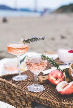 Rosé Disposition Peach Rosé Vodka cocktail   recipe on Craftandcocktails.co