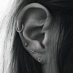 Simple Ear Piercing Ideas at MyBodiArt