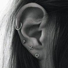 Simple Ear Piercing Ideas at MyBodiArt