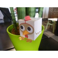 Papertoy poulet / chicken