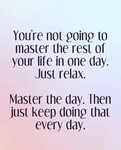 Master the day 👌🏼