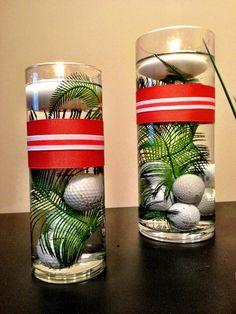146 best golf centerpieces images bricolage diy christmas rh pinterest com
