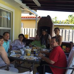 Breakfast with family