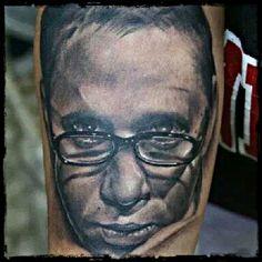 #tattoo #tattoos #tattooart #tattooartist #tattooartwork #tatuaje #tatuajes #tatuagem #portrait #portraittattoos #realism #realistic #glasses #blackandgrey #blackandgreytattoos #customtattoos #tattooed #inked #ink #cancadaver #bonitocadaver #boniccadavertattoo #calella #maresme #barcelona #km666
