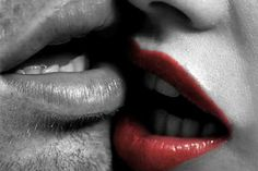 """Fifty Shades of Grey Quotes - """"I'd like to bite that lip! Just Beauty, Beauty Full, Hair Beauty, Perfect Makeup, Pretty Makeup, Color Splash, Color Pop, Red Color, Love And Lust"""