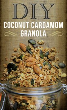 Coconut Cardamom Granola Recipe!