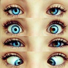 beautiful unique blue eyes | photography
