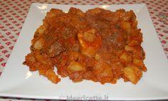 Ricetta Ossobuco con pomodoro e patate