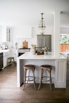 French Vintage Renovated Kitchen - So Much Better With Age