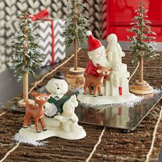 Department 56 Snowbabies - As popular as ever... Rudolph®  celebrates 50 years sharing  some of his fondest memories  with Snowbabies. For more information www.department56.com Shop 24/7 shop.department56.com  Rudolph the Red-Nosed Reindeer © & ® or ™ The Rudolph Co., L.P.  All elements under license to Character Arts, LLC. All rights reserved.