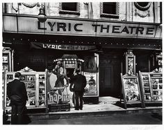 Lyric Theatre, 100 Third Avenue, Manhattan 1936 Berenice Abbott