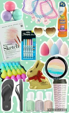 Over 50 great ideas for easter basket fillers for tween and teen teen girl easter basket ideas negle Choice Image