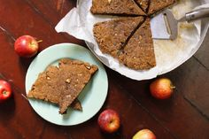 Apple Spice and Maple Scones (Gluten-Free, Paleo)