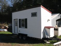 Beaver Valley Tiny House on Wheels for Sale Tiny Houses For Sale, Tiny House On Wheels, Tuff Shed, Best Tiny House, Wheels For Sale, Tiny House Listings, Sleeping Loft, Queen Size, Small Spaces