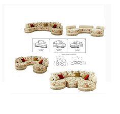 """Компания """"Via Maestri"""" рада объявить о выпуске дивана под названием """"Милан"""".Диван """"Милан"""" - это уникальная по своей технологии и функциональности разработка. Он состоит из нескольких отдельных модулей, которые соединяются между собой в единое целое посредством высокотехнологичной системы сцепления, необыкновенно легкой и удобной в использовании. Модули дивана """"Милан"""" могут эксплуатироваться отдельно в качестве самостоятельного элемента интерьера, либо объединяться в единую диванную группу."""
