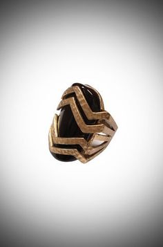 Tribal meets Deco Ring #alliwant #netaporter