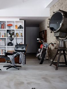 Loft: home case in hk Loft, ideas, home, house, apartment, decor, decoration, indoor, interior, modern, room, studio.