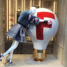 "FENDI,Paris,France, ""You'll find boredom where there is the absence of a good idea"", pinned by Ton van der Veer"