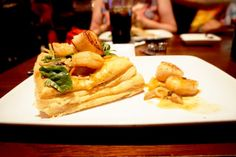 Disney Magic Kingdom: Sautéed Shrimp and Scallops in Puff Pastry, from Be Our Guest
