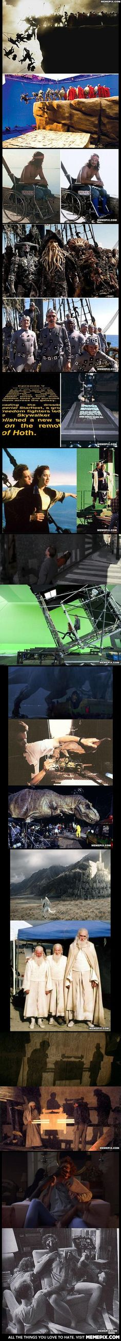 Special Effects In Classic Movie Scenes. Vfx history, the makjng of, cinemagic news, behind the scenes, visual effects breakdowns, makeup and costume art, reels and film making