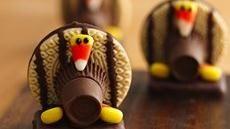 Cute Turkey Cookies