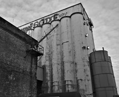 Where disaster nearly happens for Ian and Alice.  Fisher Flour Mill   by KWDesigns