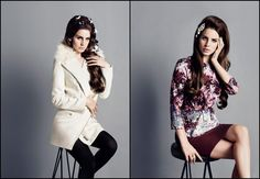 Lana Del Rey for HM Fall 2012
