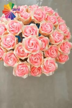 Easy Tutorial for Beautiful DIY Ribbon Flowers Diy Ribbon Flowers, Ribbon Flower Tutorial, Paper Flowers Craft, Ribbon Crafts, Flower Crafts, Ribbon Bouquet, Ribbon Rose, Diy Flower Fabric, How To Make Paper Flowers