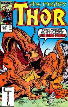 Thor #379, may 1987, cover by Walt Simonson.