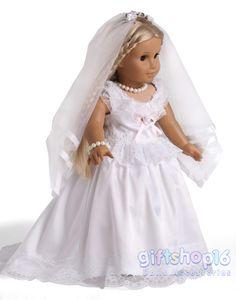 American Girl Doll Wedding Dresses On Pinterest American Girl Dolls Americ